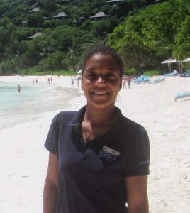Annie Vidot, Marine Educator Assistant