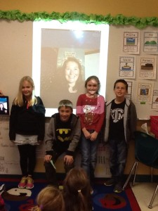 Mrs Roper's 3rd grade class from Texas, USA