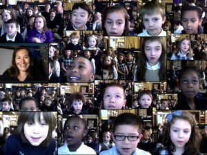 Mrs Chaback's class in upstate New York, USA