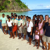 Group photo with the GIF project manager and WiseOceans Team