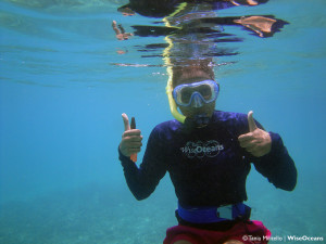 Annie in water, Seychelles Oct 2015 © TM WiseOceans (3)