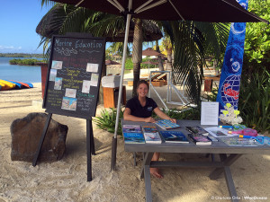 Marine Education Station and Jo, FSRM, Oct 2015 © CO WiseOceans