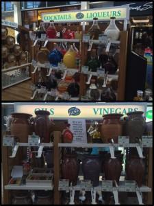 Oils, vinegars & spirits plastic free