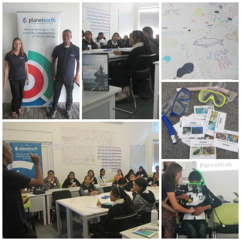 Activities from the Future Women Leaders in STEM day