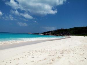 Beautiful beach on La Digue, Seychelles © Krishna Ashok