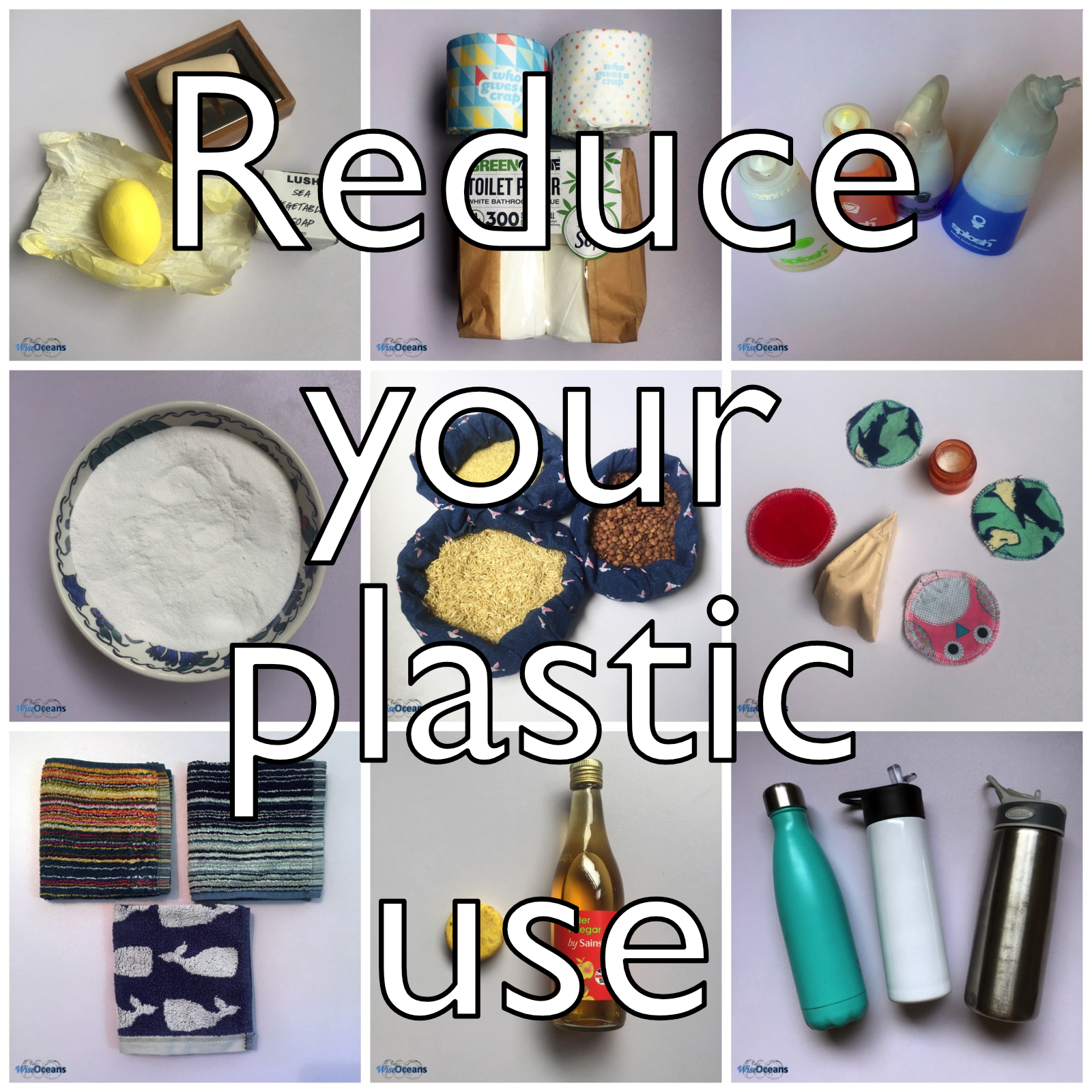 30+ ways to reduce your plastic use! | WiseOceans